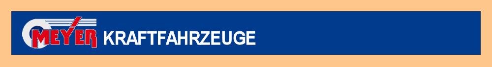 Logo von Meyer Kraftfahrzeuge GmbH